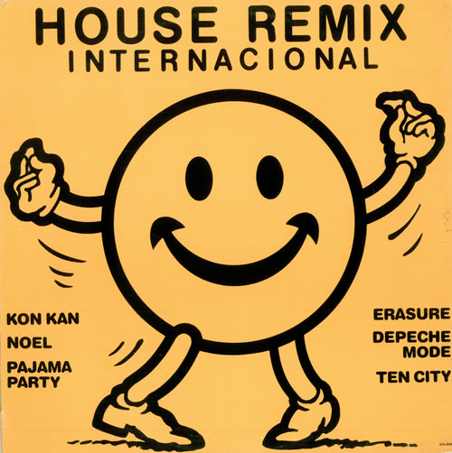 Capa do disco House Remix Internacional